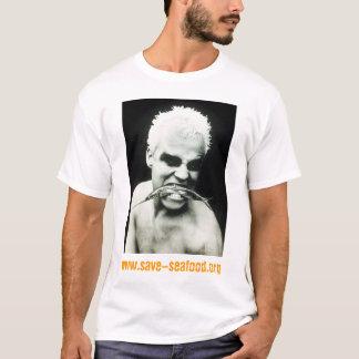 シーフード旅行を救って下さい Tシャツ