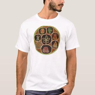 シールはの直します:  Karunaの霊気の紋章 Tシャツ