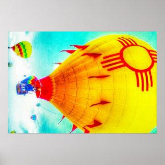 ジアの気球 ポスター