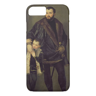 ジウゼッペdaポルトおよび彼の息子アドリアーノ、c.1555 (油 iPhone 8/7ケース