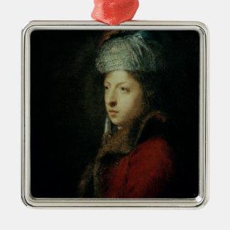 ジウゼッペMarchi 1753年のポートレート メタルオーナメント