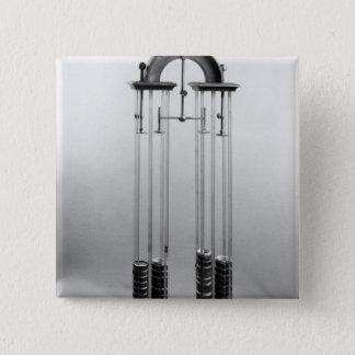 ジェイクスアレグサンダーチャールズのためになされるボルタ電池 5.1CM 正方形バッジ