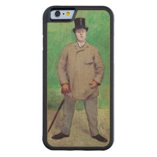 ジェイクスエミイルBlanche 1884年 CarvedメープルiPhone 6バンパーケース
