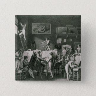 ジェイクスルイデイヴィッドのスタジオ 5.1CM 正方形バッジ
