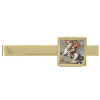 ジェイクスルイデイヴィッド著アルプスを交差させているナポレオン 金色 ネクタイピン