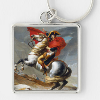 ジェイクスルイデイヴィッド著Napoleon Bonaparteの絵画 キーホルダー
