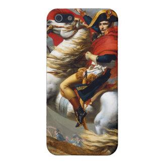 ジェイクスルイデイヴィッド著Napoleon Bonaparteの絵画 iPhone 5 カバー