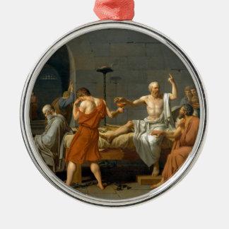 ジェイクスルイデイヴィッド著Socratesの死 メタルオーナメント