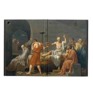 ジェイクスルイデイヴィッド著Socratesの死 iPad Airケース