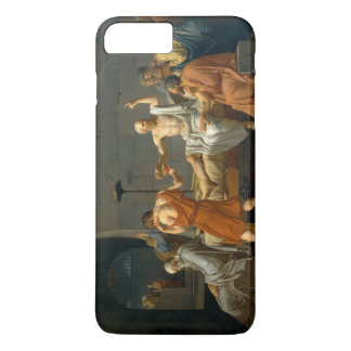 ジェイクスルイデイヴィッド著Socratesの死 iPhone 8 Plus/7 Plusケース