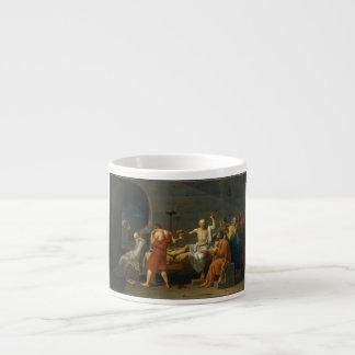 ジェイクスルイデイヴィッド1787年著Socratesの死 エスプレッソカップ