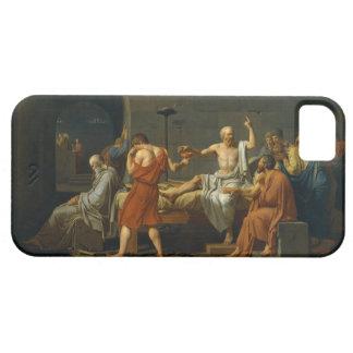 ジェイクスルイデイヴィッド1787年著Socratesの死 iPhone SE/5/5s ケース