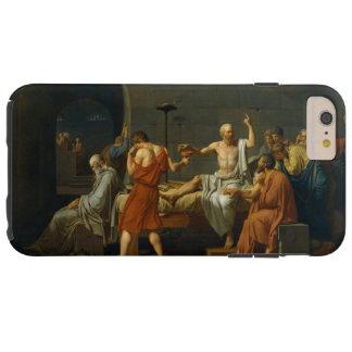 ジェイクスルイデイヴィッド1787年著Socratesの死 Tough iPhone 6 Plus ケース