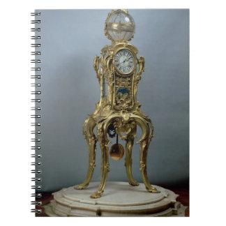 ジェイクスCaffiがなすPassamentの天文時計 ノートブック