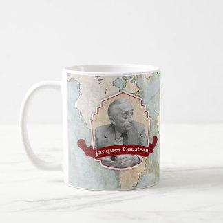ジェイクスCousteauの歴史的マグ コーヒーマグカップ