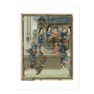 ジェイクスde Lalain (velのFr.16830 f.16vの記録 ポストカード