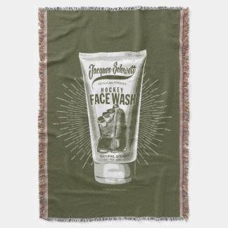 ジェイクスSchwettのホッケーの顔の洗浄 スローブランケット