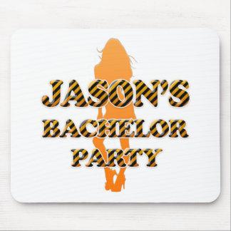 ジェイソンのバチュラーパーティ マウスパッド