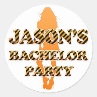 ジェイソンのバチュラーパーティ ラウンドシール