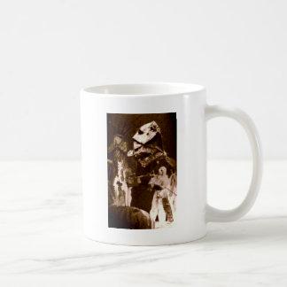 ジェイソンの翼およびくま コーヒーマグカップ