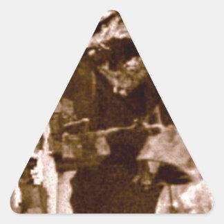 ジェイソンの翼およびくま 三角形シール