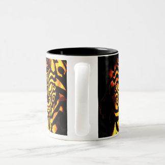 ジェイソンの長いデザインの火球のマグ ツートーンマグカップ