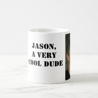 ジェイソンのAの非常に涼しい男のマグ コーヒーマグカップ