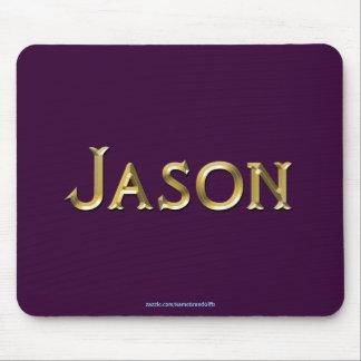 ジェイソンは名前入りなギフトのマウスパッドを名前決め付けました マウスパッド