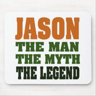 ジェイソン-人、神話、伝説! マウスパッド