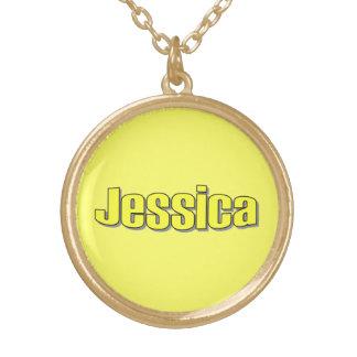 ジェシカのネックレス ゴールドプレートネックレス