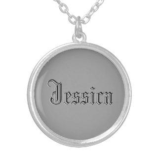ジェシカのネックレス シルバープレートネックレス