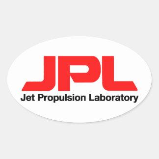 ジェット推進の実験室 楕円形シール