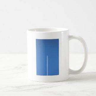 ジェット機で去ること コーヒーマグカップ