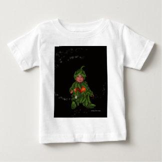 ジェット機のカボチャ ベビーTシャツ