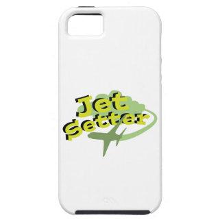 ジェット機のセッター iPhone SE/5/5s ケース