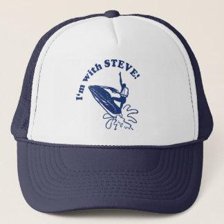 ジェット機のバイクのスティーブのトラック運転手の帽子 キャップ