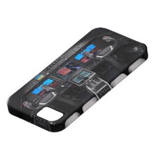 ジェット機の操縦室2 iPhone SE/5/5s ケース
