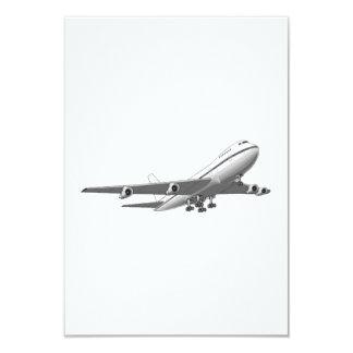 ジェット機の飛行機 カード