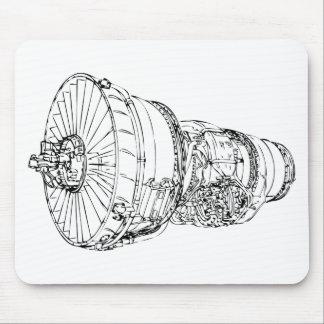 ジェット・エンジン マウスパッド