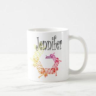 ジェニファーのマグ コーヒーマグカップ