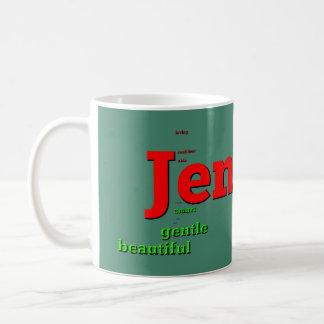 ジェニファーの休日のマグ コーヒーマグカップ
