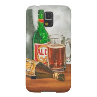 ジェニファーGoldberger著ビールが付いている静物画 Galaxy S5 ケース