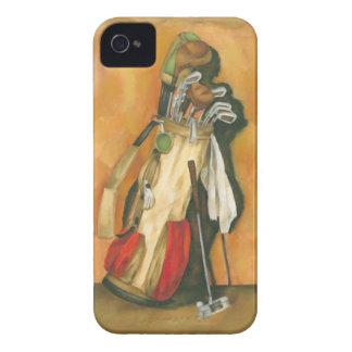 ジェニファーGoldberger著手袋が付いているゴルフバッグ Case-Mate iPhone 4 ケース