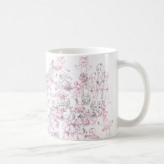 ジェニファーSchauderスミスの「女の子」のマグ コーヒーマグカップ