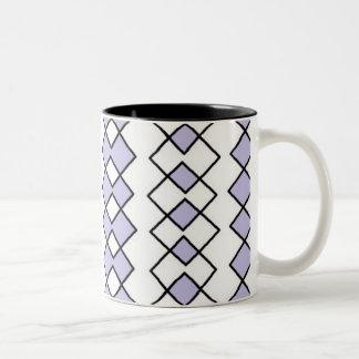 ジェニファーShaoによって11のozのツートーンマグの芸術を黒くして下さい ツートーンマグカップ