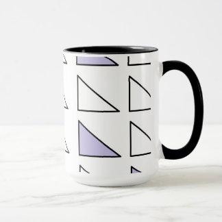 ジェニファーShaoによって15のozのコンボのマグの芸術を黒くして下さい マグカップ