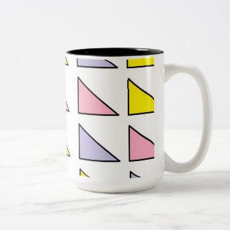 ジェニファーShaoによって15のozのツートーンマグの芸術を黒くして下さい ツートーンマグカップ