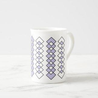 ジェニファーShao著骨灰磁器のマグの芸術 ボーンチャイナカップ