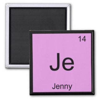 ジェニー一流化学要素の周期表 マグネット