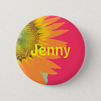 ジェニー 5.7CM 丸型バッジ
